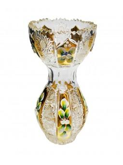 Cut small glass bowl, tripod