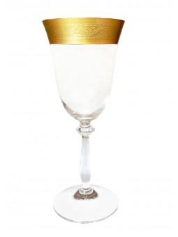 Broušené skleničky brandy...